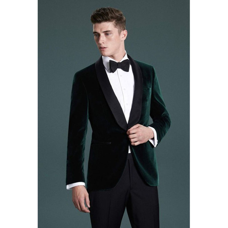 fe86088309f6 Smoking Terno Giacca Pant Uomo Sposa Sposo 2018 The Image Slim Da As  Fashion Morning Borgogna Abiti Dello Per Mens Fit ...