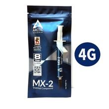 Arctic MX 2 4g processador pc gpu, cooler ventilador de refrigeração i composto térmico graxa condutora dissipador de calor, gesso, pasta térmica