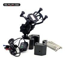Ручка Бар адаптер и мобильный телефон навигации кронштейн USB зарядное устройство для Kawasaki zg1400/GTR1400/CONCOURS 14 Мото Аксессуары
