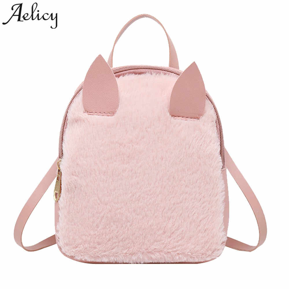 a4fab17291c Detail Feedback Questions about Aelicy 2018 Women Mini Backpack Female Small  Leather Black Bag Stylish Back Pack Backpacks for Teenagers Girls School  Bags ...
