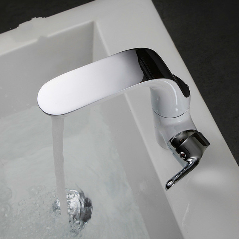 A1 Washbasin in the lower basin wash basin faucet copper can be rotated hot and cold basin faucet LU5117 kitchen hot and cold water faucet can be rotated sink faucet copper wash basin faucet three colors optional wx5081057