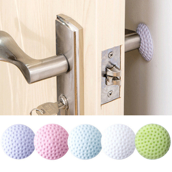 Soft Thickening Mute To Protect The Wall Self Adhesive Stickers Door Stopper Golf Style Rubber Pad Fender Household Product