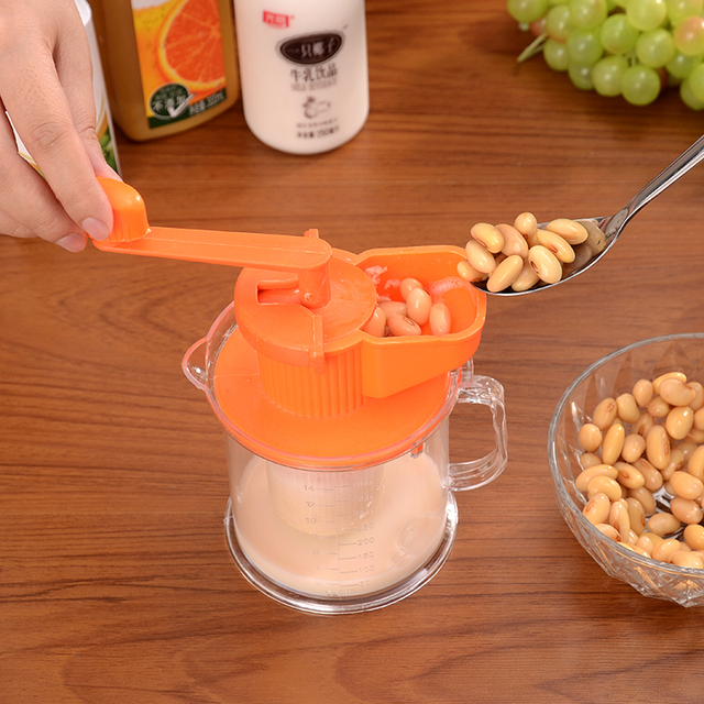 US $5 5 |Free shipping! small handle soybean peanut machinery baby Nutmeg  juicer soya bean milk mill-in Mills from Home & Garden on Aliexpress com |