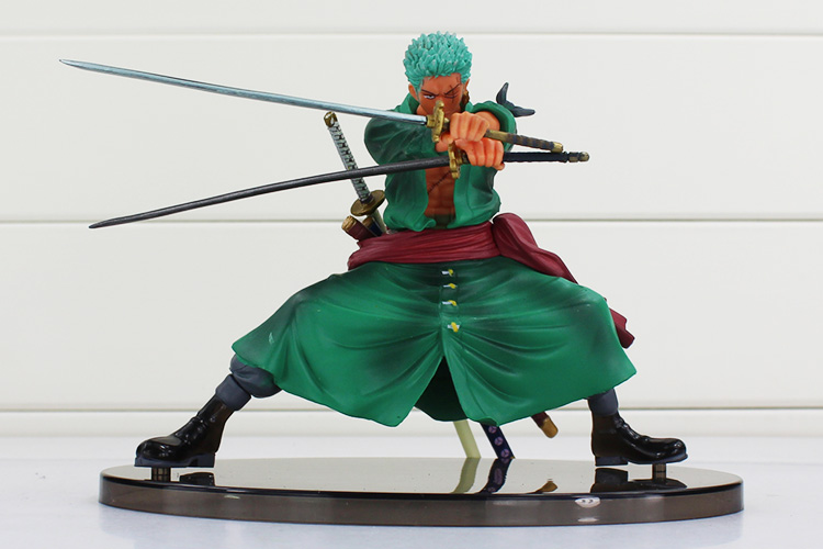 Cool Decisive Battle Version One Piece Roronoa Zoro PVC Figure Toy Action Collection Model Toy Brinquedos one piece action figure roronoa zoro led light figuarts zero model toy 200mm pvc toy one piece anime zoro figurine diorama