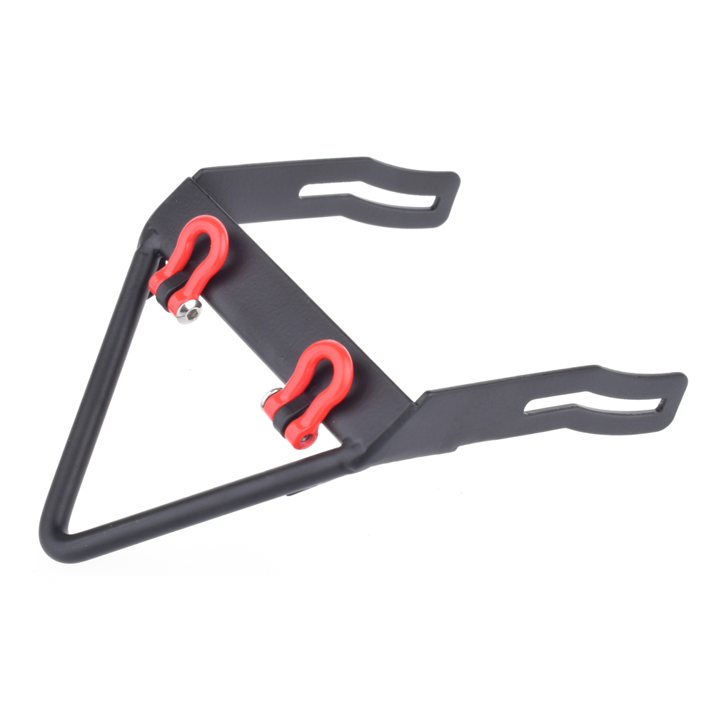 Metal Steel Front Bumper With Stinger Towing Shackle for Axial SCX10 90021 90022 90027 90028 90034 90035 90036 90037 TYPE A