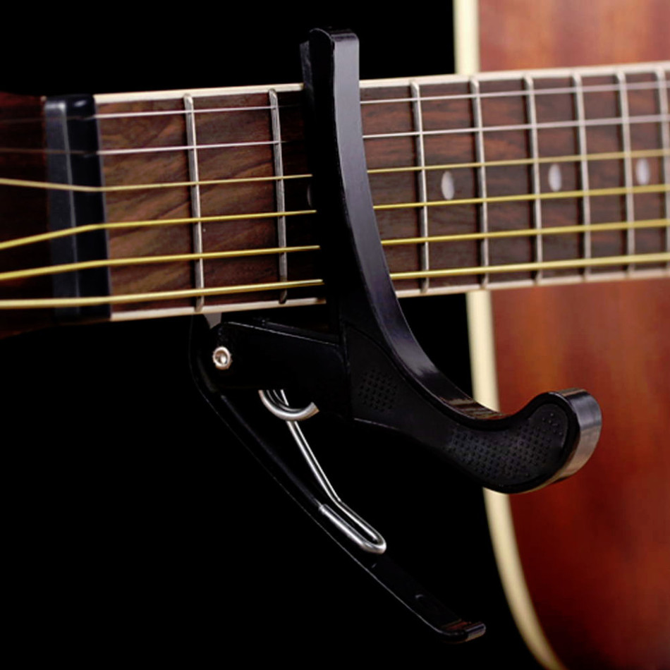 Guitar Trigger Capo Clip for Electric//Acoustic Classical Ukulele Guitar Tuning