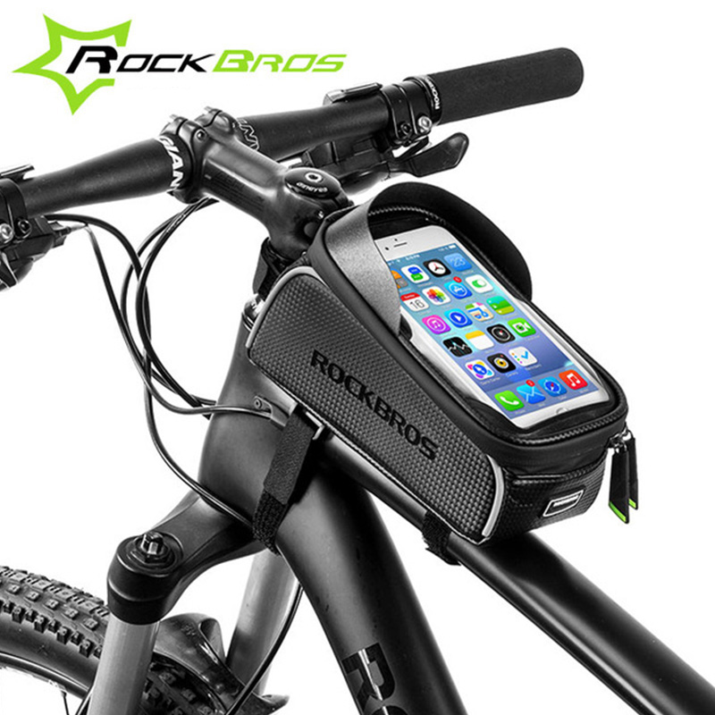 Frame, Pouch, ROCKBROS, Touchscreen, Waterproof, Bags