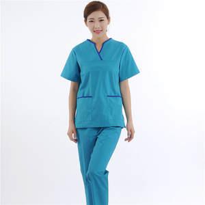 45ffbd3351c Sets Hospital Suits Clothes Uniform Gowns Coat Heart