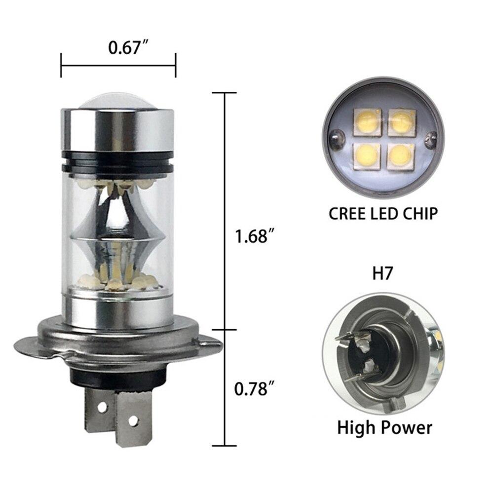 Lâmpadas Led e Tubos lâmpada led h7 1000lm Brightness : 1000lm