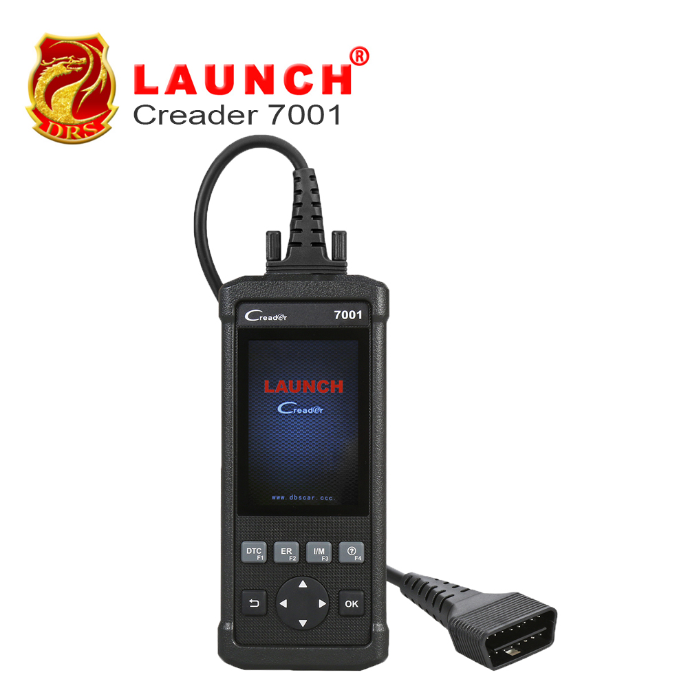 Launch DIY Code Reader CReader 7001 Full OBD2 Scanner/Scan Tool with Oil Resets Service, EPB/SAS/BMS/DPF/ABS Bleeding optional launch diy scanner creader 9081 full obd2 scanner scan tool diagnostic obdii oil epb bms sas dpf tpms abs bleeding cr9081