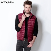 The 2015 Winter Men S Casual Fashion Boutique Slim Type Zipper Collar Sleeveless Vest Jacket Color