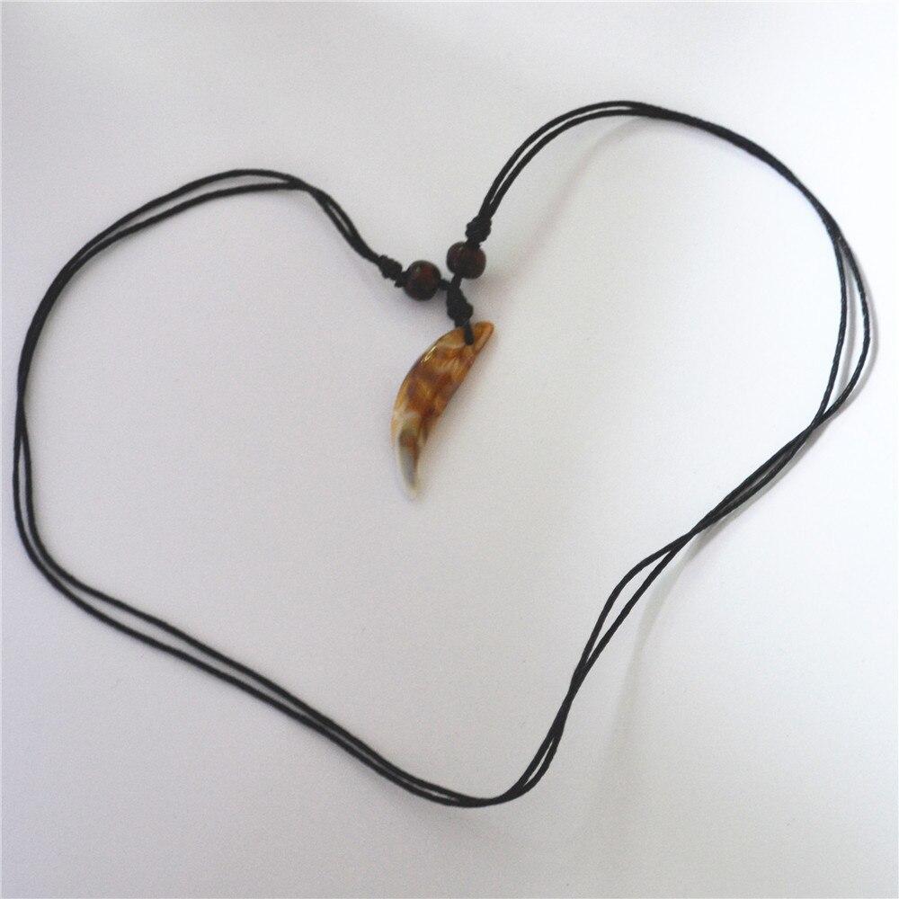 Новое поступление,, цветная ракушка, кость яка, бычий рог, подвеска в форме зуба, ожерелья для женщин и мужчин, 12 шт./лот