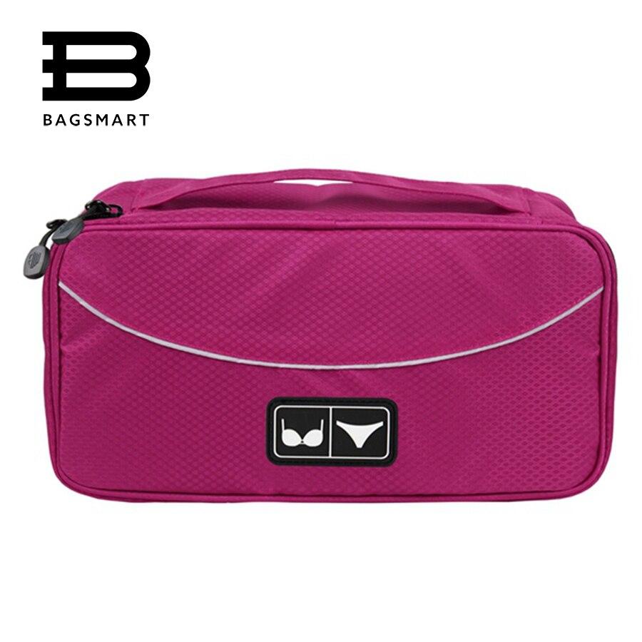 BAGSMART Nylon Women Underwear Travel Bag Bra Case For ...