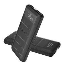 20100 мАч Мощность Bank внешняя Батарея Зарядное устройство мобильного телефона Батарея Зарядное устройство с двумя USB ЖК-дисплей фонарик для смартфонов iphone