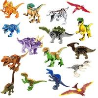 Jurassic Welt 2 Dinosaurier Figuren Tyrannosaurus Rex Baustein Ziegel Spielzeug Dinosaurier Action Figure Modell Sammlung-in Action & Spielfiguren aus Spielzeug und Hobbys bei