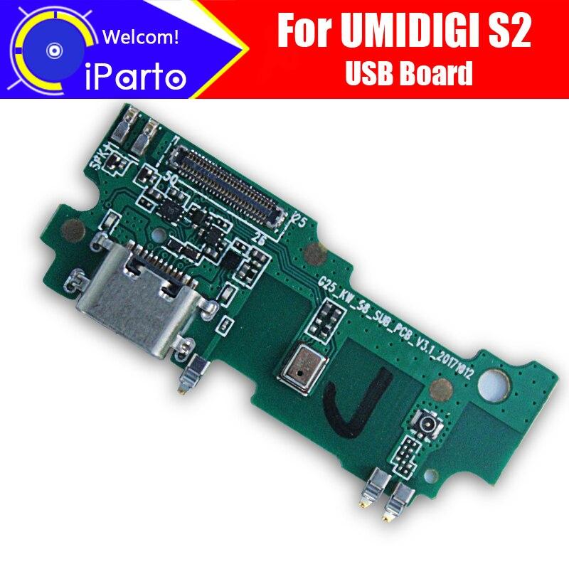 UMIDIGI S2 usb board 100% Original Neue für usb stecker lade board Ersatz Zubehör für UMIDIGI S2 telefon