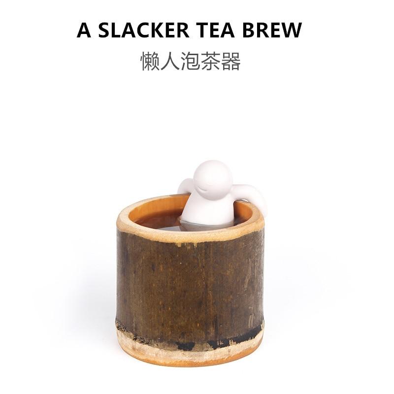 Toys Silica-Gel Anime-Figure Bubble Brewing Office Tea-Accessories Slacker Funny Creative