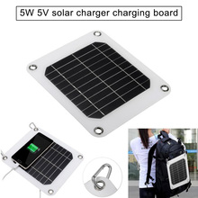 5V 5W Solar Charging Panel Battery Power Charger Board for Mobile Phone  TN88