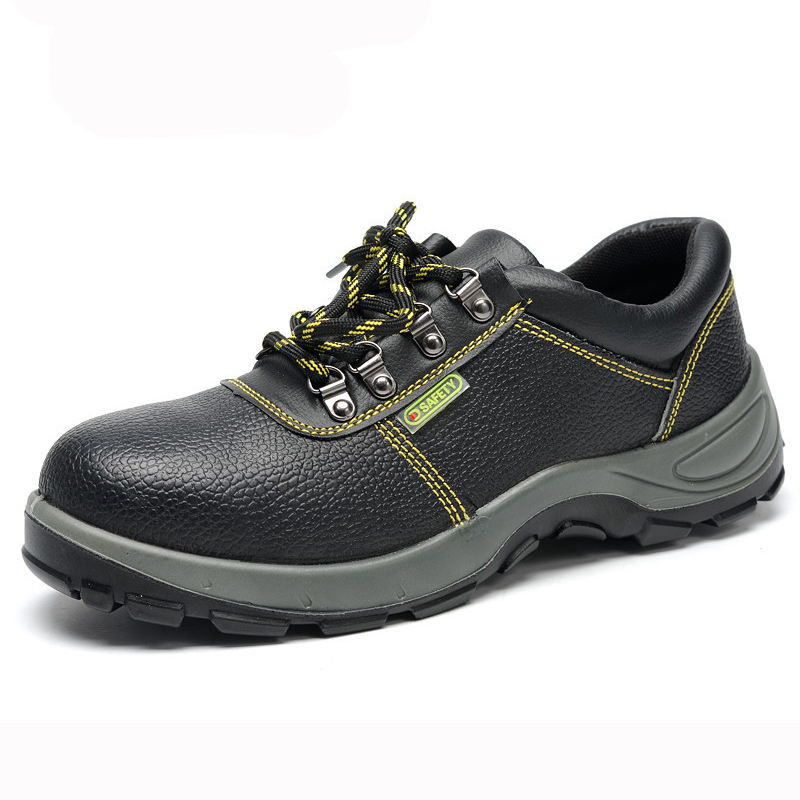 ФОТО 2016 New Breathable Men Work&Safety Shoes Male Steel Toe Covering Wear-Resistant Oil Waterproof Welding Shoes Big Size 35-46