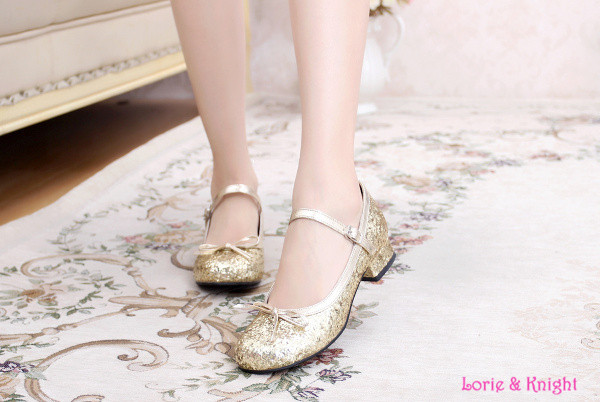 Online Buy Wholesale gold shoes heels from China gold shoes heels ...