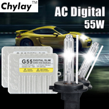 One set H7 xenon kit G55 110w H1 H4 H3 H11 9005 9006 D2S Slim HID ballast xenon kit 4300K 6000K 8000K bulb car headlight