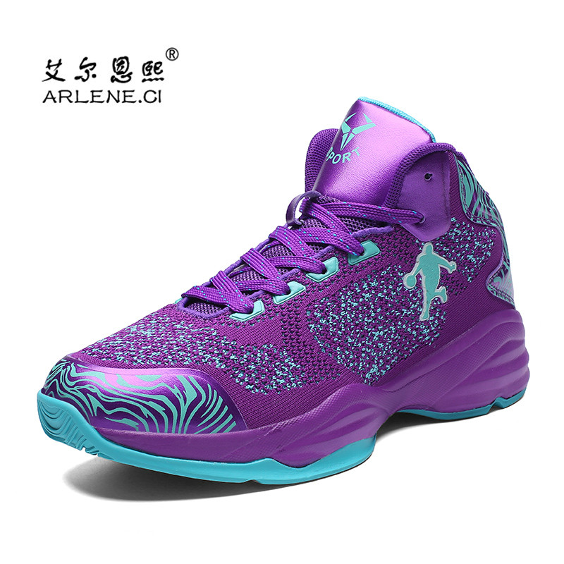 8d9c3a56e5b 2018 Men Jordan Basketball Shoes Brand Breathable Non slip Sneakers Outdoor  Air Mesh Sports Shoes Chaussures De Basket Homme-in Basketball Shoes from  Sports ...