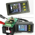 DC Battery 120V 300A LCD Voltage Current Watt Power capacity Digital Combo Meter Volt  ammeter charge discharge 12v 24v
