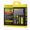 100% Original Nitecore i4 Intellicharger Universal Battery Charger I4 Intelligent charging Power For Li-ion/NiMH 18650/26650/AA