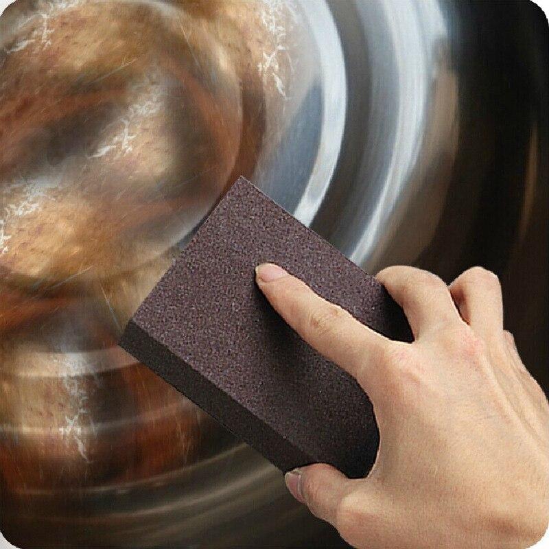 Нано Губки Magic Eraser для Удаления Ржавчины очистки хлопка Эмери губки Меламина губки кухонные принадлежности удаления накипи Чистить Руб горшок