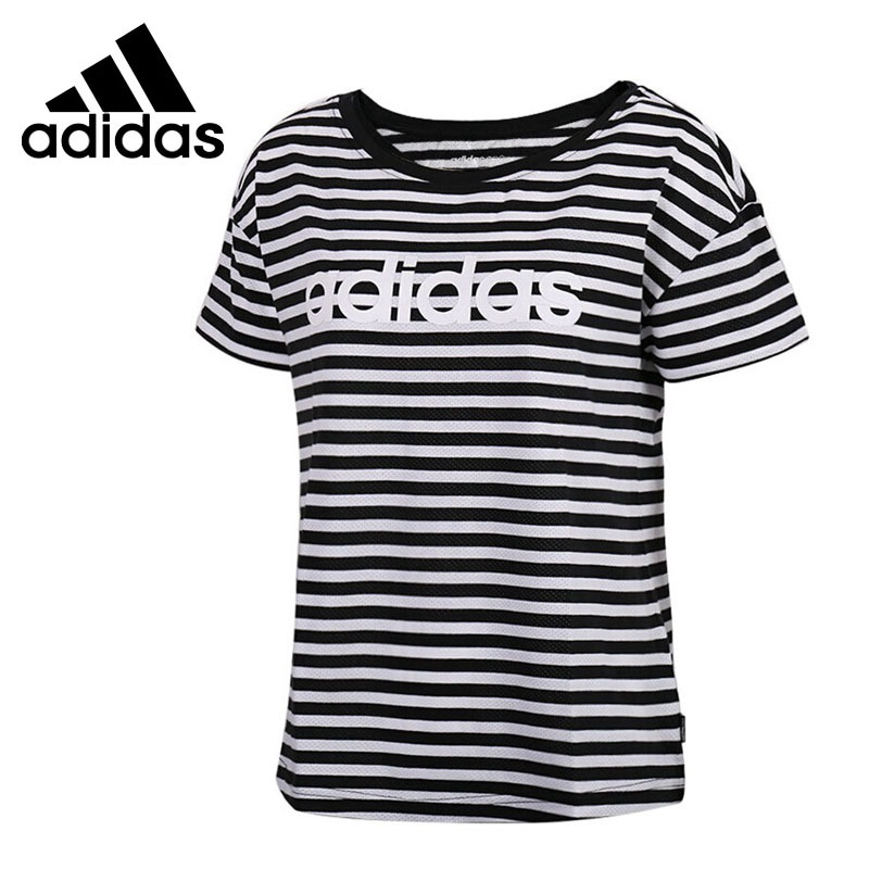 Original New Arrival 2018 Adidas NEO Label STRP MSH T Women's T-shirts short sleeve Sportswear original new arrival 2017 adidas neo label m cs graphic men s t shirts short sleeve sportswear