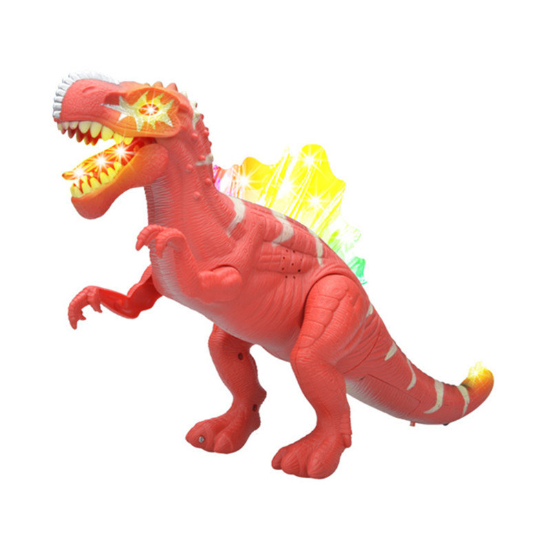 PVC Electronic Dinosaur Robot Toy Electric Dinosaurs With Light  Sound Electronic Animal For Games Hot Toys Beriqneudos Gift