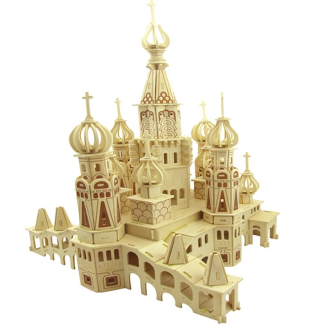Wooden jigsaw puzzle toy building wooden toys St Petersburg 3d puzzle wooden toy jigsaw for children