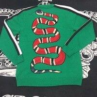 Новинка 2018 Высокое качество модные свитера для подиума летние человек Роскошные брендовые Мужская одежда A08412