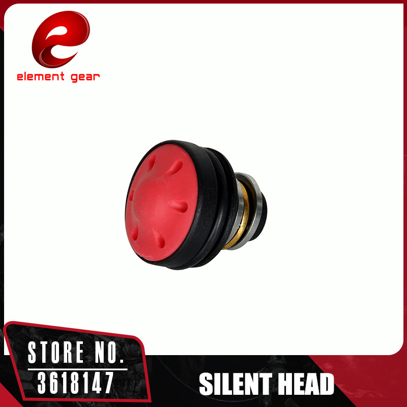 Element Silent Piston Head for Airsoft AEG Version 2 3 AK47 74 AUG M4 M16 MP5