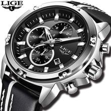 Relogio Masculino 2018 LUIK Heren Horloges Top Brand Luxe Horloge Mannen Casual Lederen Militaire Waterdichte Sport Quartz Horloge