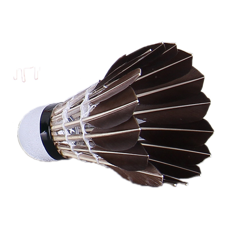 5pcs Game Sport Training Duck Feather Shuttlecock Birdies Badminton Ball Km Badminton Sport
