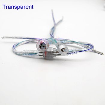Оптовая продажа 5 ~ 50 пар 2pin 3pin 4pin 5pin водонепроницаемый IP68 кабель мужчин и женщин светодиодные полосы разъем