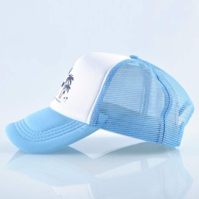 2806fd1c8dc34 placeholder Snapback de malla gorra de béisbol de verano al aire libre  deporte sombreros para hombres de