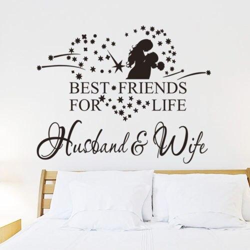 Teman Terbaik Untuk Kehidupan Suami Istri Wall Art Decal