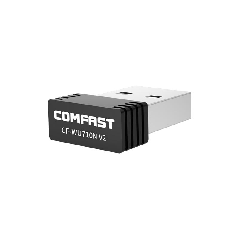 Image 5 - Mini 150Mbps 2.4G USB Wifi Adapter Wifi dongle Wi fi Receiver USB Ethernet Network Card for PC Laptop Comfast CF WU710V2-in Network Cards from Computer & Office