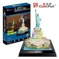 Kingtoy 3D головоломки бумаги ремесло diy игрушки головоломки игрушки-статуя свободы (США) (L серии) ребенок Поделки Игрушки