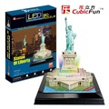 Kingtoy 3D puzzle toy paper craft diy toy puzzles toy- the statue of liberty (USA) (L series) Child Diy Toy
