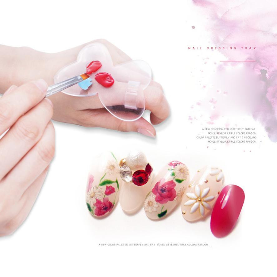 4 Colors For Choose #gd-31 Nail Art Beauty & Health 1pc 3cm Silicone Soft Candy Color Nail Art Stamper Silicone Matte Handle Stamping Scrapers Tools