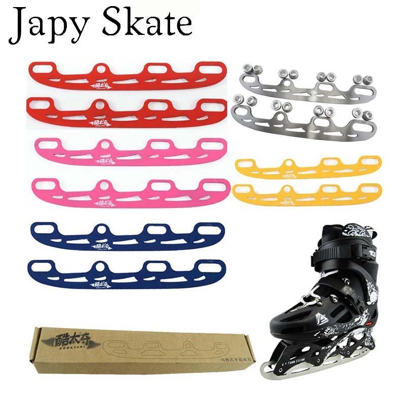 Prix pour Jus japy Skate Rouleau Patins À Glace Lame Cooltaki Skate Chaussures Glace Lame Multi But Lame De Balle Ensemble Complet