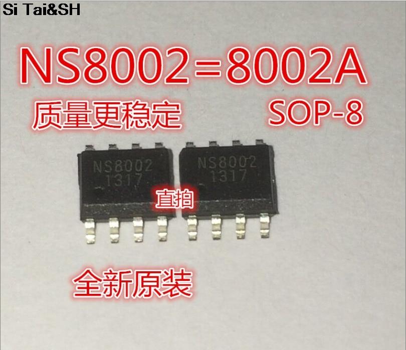 20pcs CKE8002B 8002B 8002A 8002 NS8002 SOP8 Patch 3W Audio Power Amplifier IC Chip