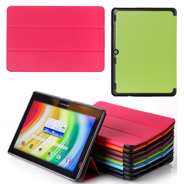 """For 2015 Version Lenovo Tab 2 A10-70 A10-70F A10-70L Tablet 10.1"""" Business Pu Leather Stand Smart Sleep Case Cover"""