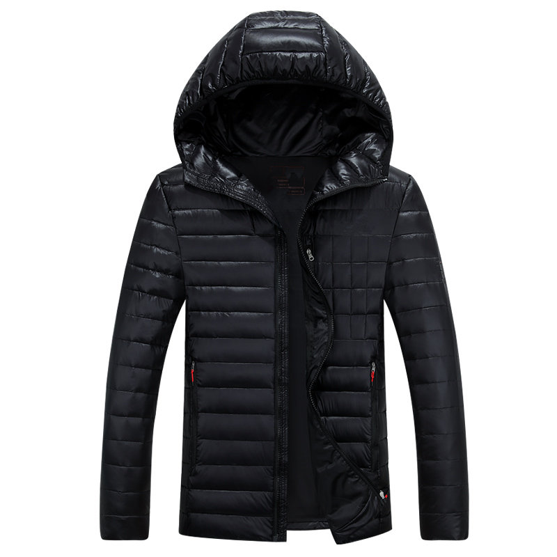 2018 Mens Hooded Duck Down Jackets Coat Mens Down Jacket Winter Parkas Couple Clothes Warm Outwear Overcoat 668