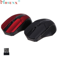 Reliable 2016 HOT gaming mouse 6 Keys 2.4GHz Mice Optical Mouse Cordless USB Receiver PC Computer Wireless For Laptop