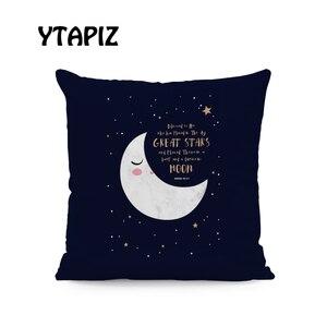 Image 2 - Lua branca Nuvem Estrela Alfabeto Padrão Castelo Ramadan Islam Arábia Saudita Kaseem Mubarek 45X45 Centímetros De Veludo Almofada Decorativa travesseiro