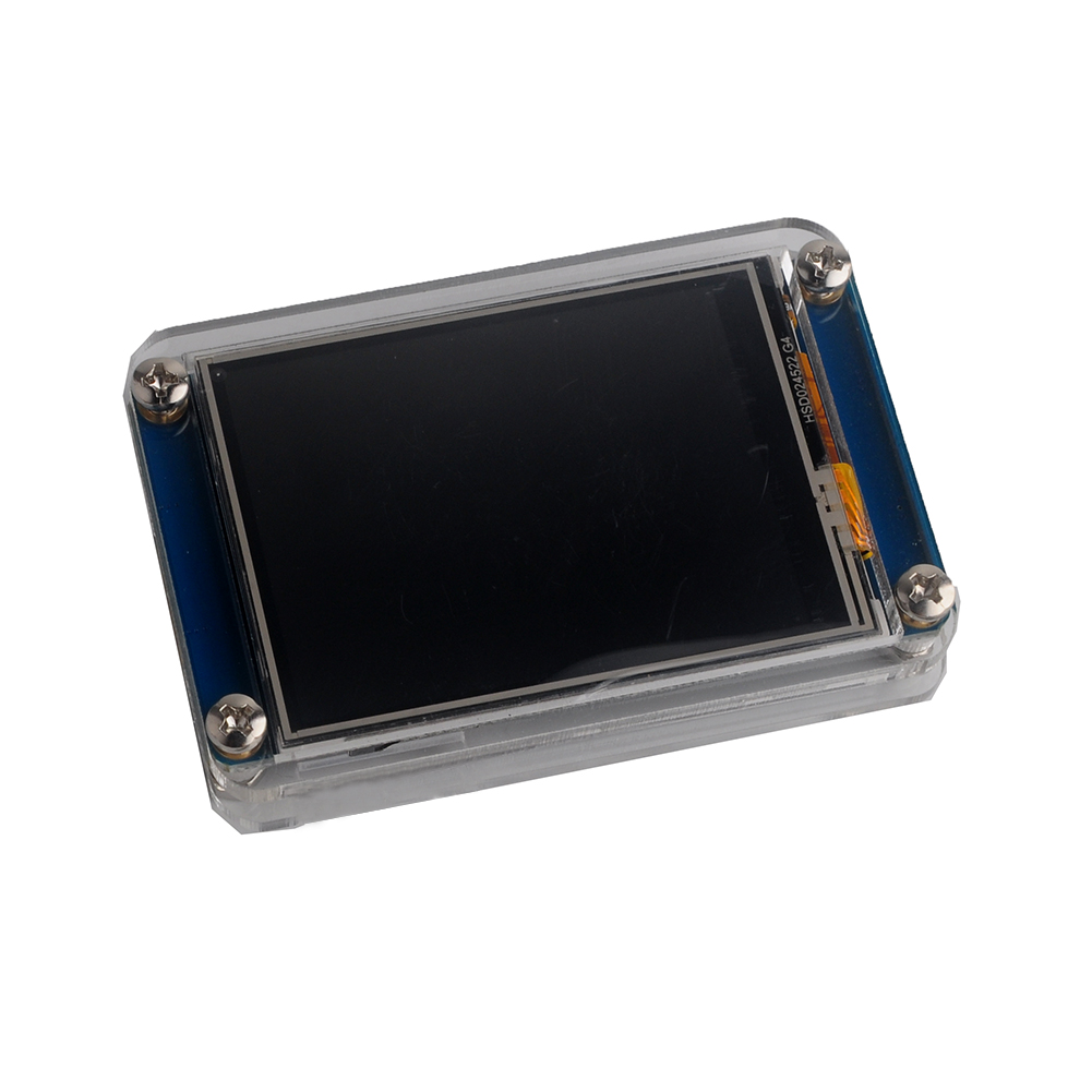 Nextion 2.4 UART HMI Touch Display LCD Screen NX3224T024+Transparent Clear Case For Arduino Raspberry Pi IoT Basic Version